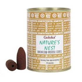 Goloka Natures Nest Incense Cones