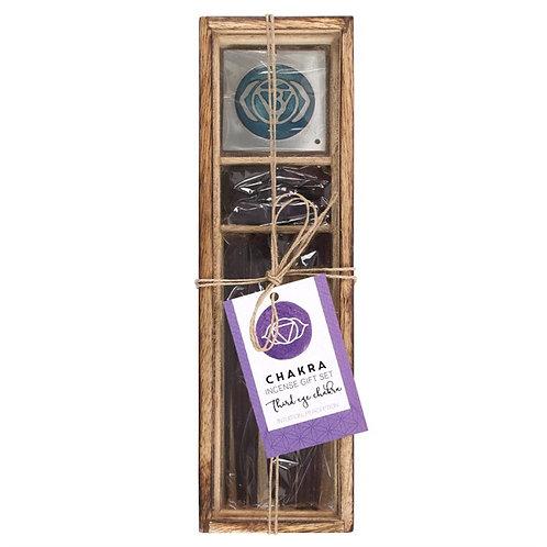 Third Eye Chakra Wooden Incense Gift Set