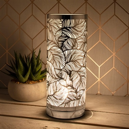Silver Leaf Touch Sensitive Aroma Lamp