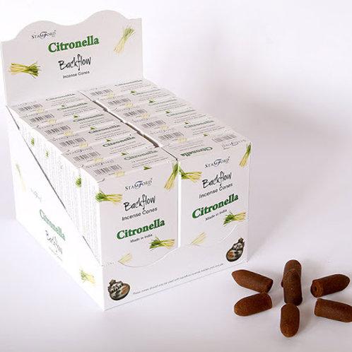 Stamford Backflow Cones Citronella