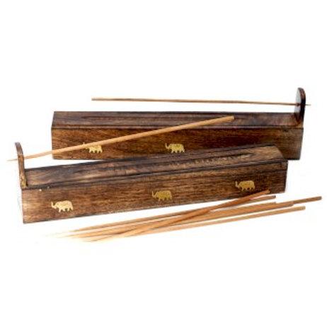 Mango Wood Incense Box
