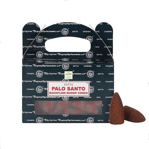 Satya Palo Santo Backflow Cones