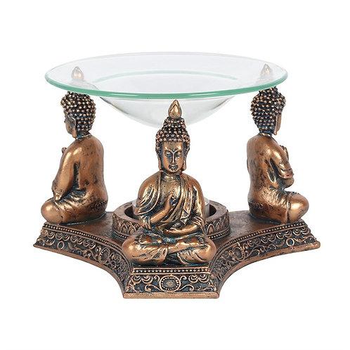 Brass Buddha Oil Burner