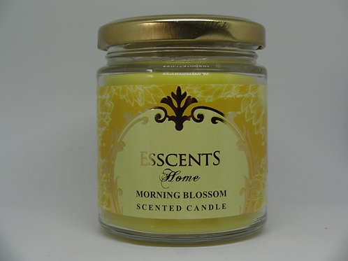 Morning Blossom Esscents Candle in Glass Jar