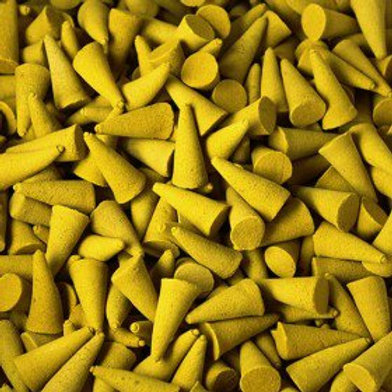 Lemon 15 Loose Incense Cones