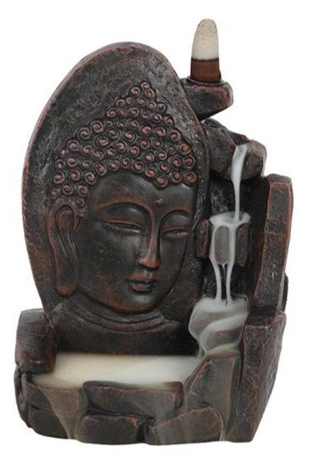 Buddha Face backflow Burner