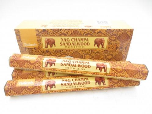 Nag Champa Sandalwood Hexagonal tube