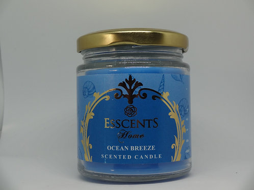 Ocean Breeze Esscents Candle in Glass Jar