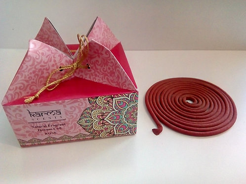 Karma Incense Coil pack Rose