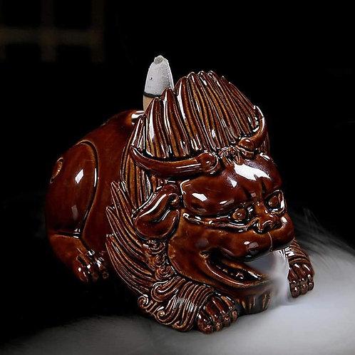 Ceramic Incense Backflow Burner Animal Design