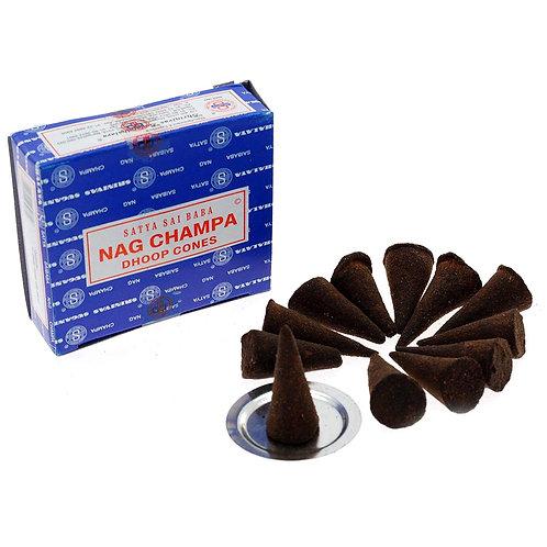 Satya sai baba Nag Champa incense cones