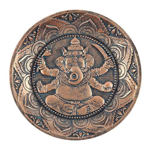 Ganesh Incense Holder Plate