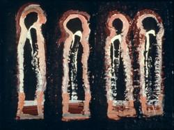 Four Monks, 1984