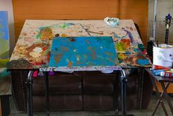 Studio: Drawing/Painting area