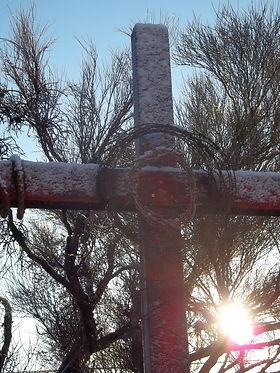 The Worship Cross, 2014 Unfinished, Wabi Sabi piece