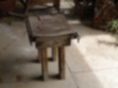 Fong's Table, 2009, Wabi Sabi piece, Mixed Media