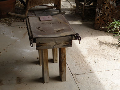 Fong's Table, 2009, Wabi Sabi piece, Mixed Media