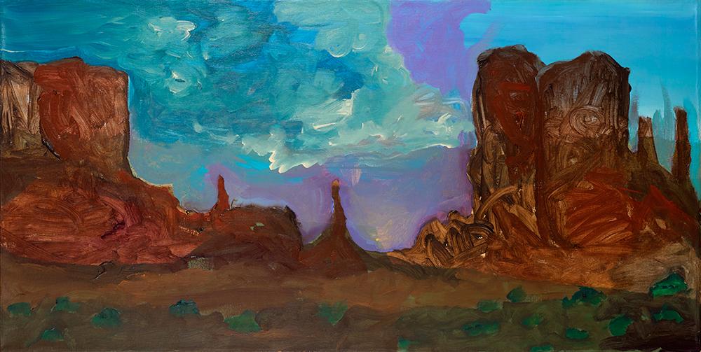 Navajo Land 1, 2015