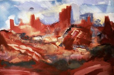 Sedona Dawn, 1991
