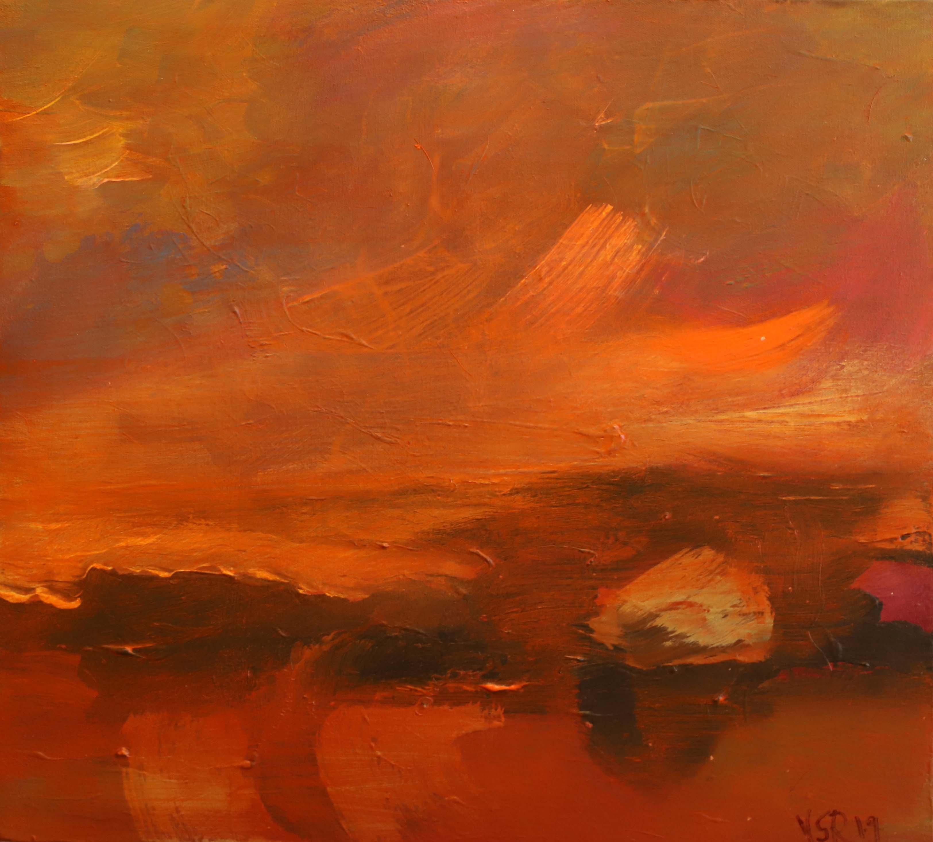 Orange Last Light, 2019