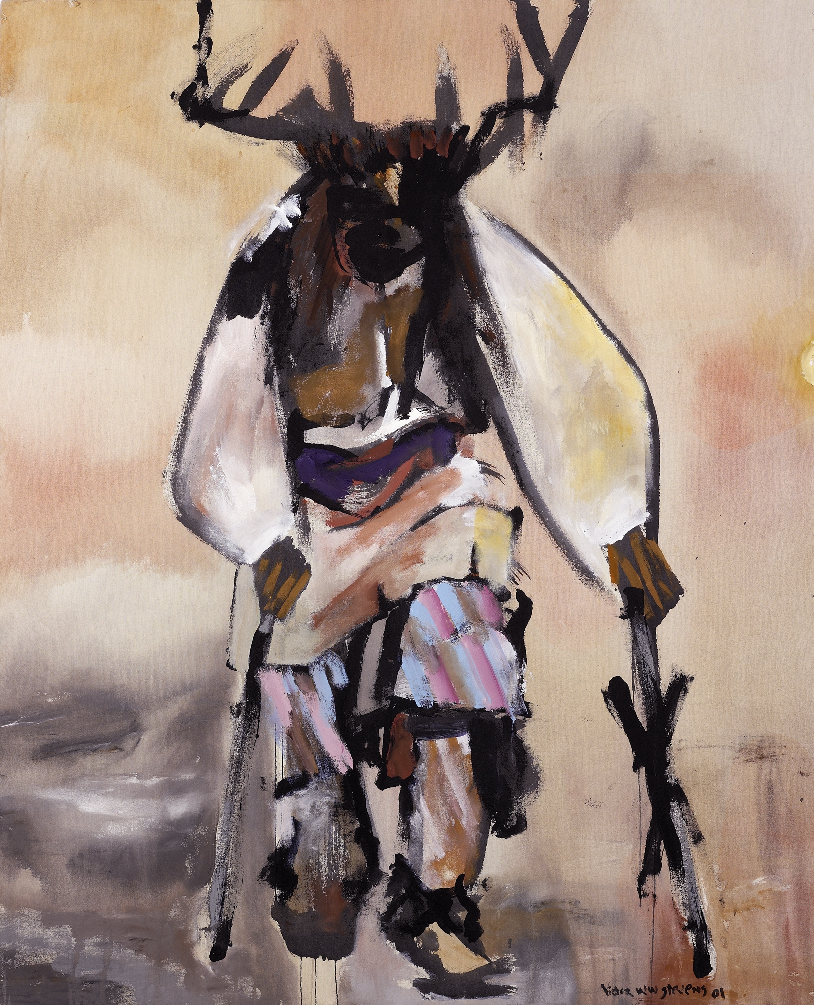 Deer Dancer II, 2001