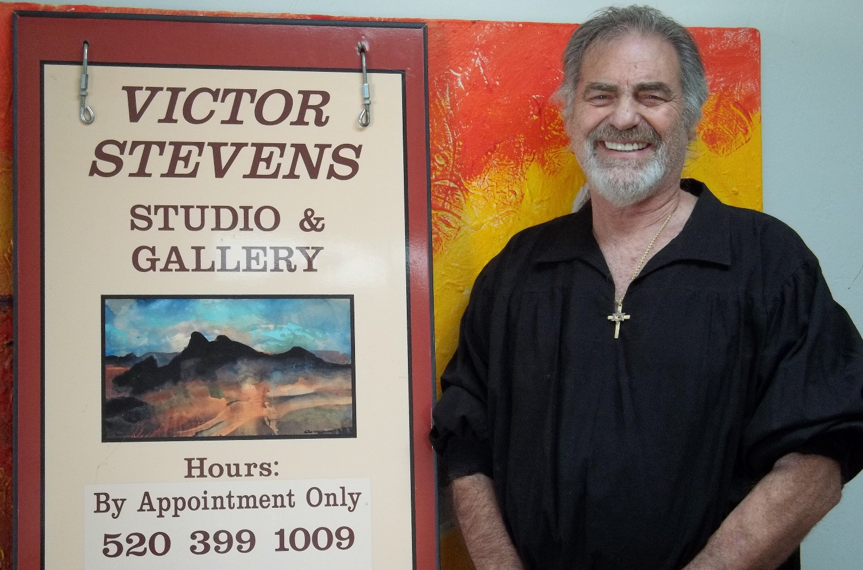 Studio Sign and Artist