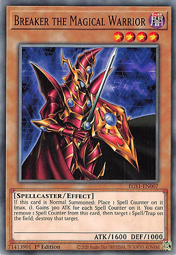 Breaker the Magical Warrior - EGS1-EN007 - Common
