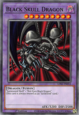 Black Skull Dragon - LDS1-EN012 - Common