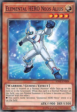Elemental Hero Neos Alius - SDHS-EN008 - Common