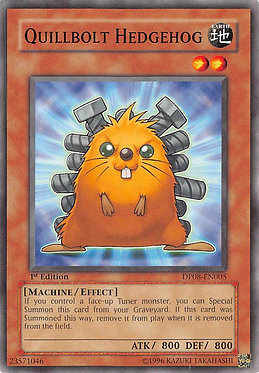 Quillbolt Hedgehog - DP08-EN005 - Common