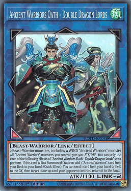 Ancient Warriors Oath - Double Dragon Lords - ROTD-EN048 - Super Rare