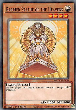 Barrier Statue of the Heavens - MAGO-EN116 - Rare