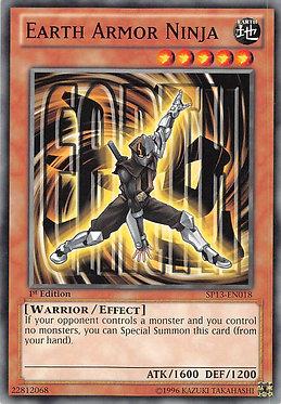 Earth Armor Ninja - SP13-EN018 - Common
