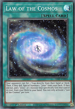 Law of the Cosmos - LED7-EN035 - Super Rare