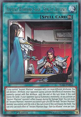 Ancient Warriors Saga - Sun-Liu Alliance - IGAS-EN056 - Rare