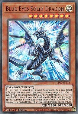 Blue-Eyes Solid Dragon - LDS2-EN014 - Ultra Rare
