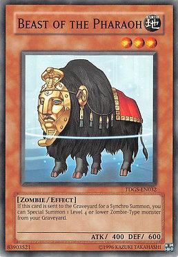 Beast of the Pharaoh - TDGS-EN032 - Common