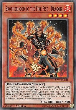 Brotherhood of the Fire Fist - Dragon - MYFI-EN044 - Super Rare