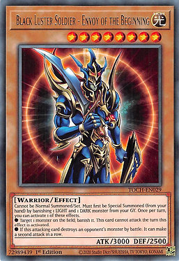 Black Luster Soldier - Envoy of the Beginning - TOCH-EN029 - Rare
