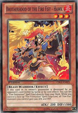 Brotherhood of the Fire Fist - Hawk - CBLZ-EN021 - Common
