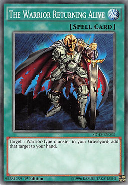The Warrior Returning Alive - SDHS-EN033 - Common