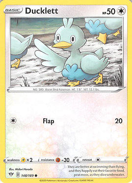 Ducklett - 148/189 - Common