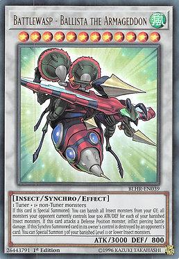 Battlewasp - Ballista the Armageddon - BLHR-EN039 - Ultra Rare