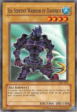 Sea Serpent Warrior of Darkness - IOC-059 - Common