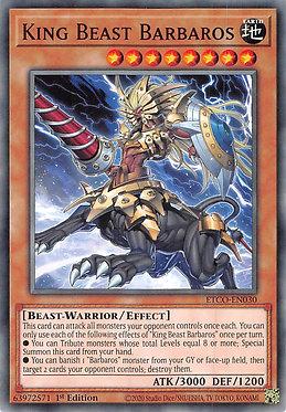 King Beast Barbaros - ETCO-EN030 - Common