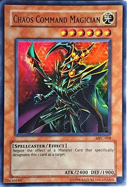 Chaos Command Magician - MFC-068 - Ultra Rare