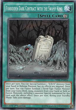 Forbidden Dark Contract with the Swamp King - TDIL-EN056 - Common
