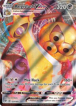 Aegislash VMAX - 127/185 - Ultra Rare