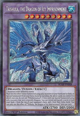 Trishula, the Dragon of Icy Imprisonment - BLAR-EN048 - Secret Rare