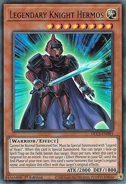 Legendary Knight Hermos (Blue) - DLCS-EN003 - Ultra Rare